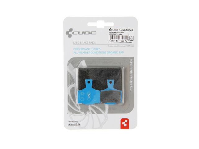 Cube Magura MT-2-4-6-8 Brake Pads organic blue